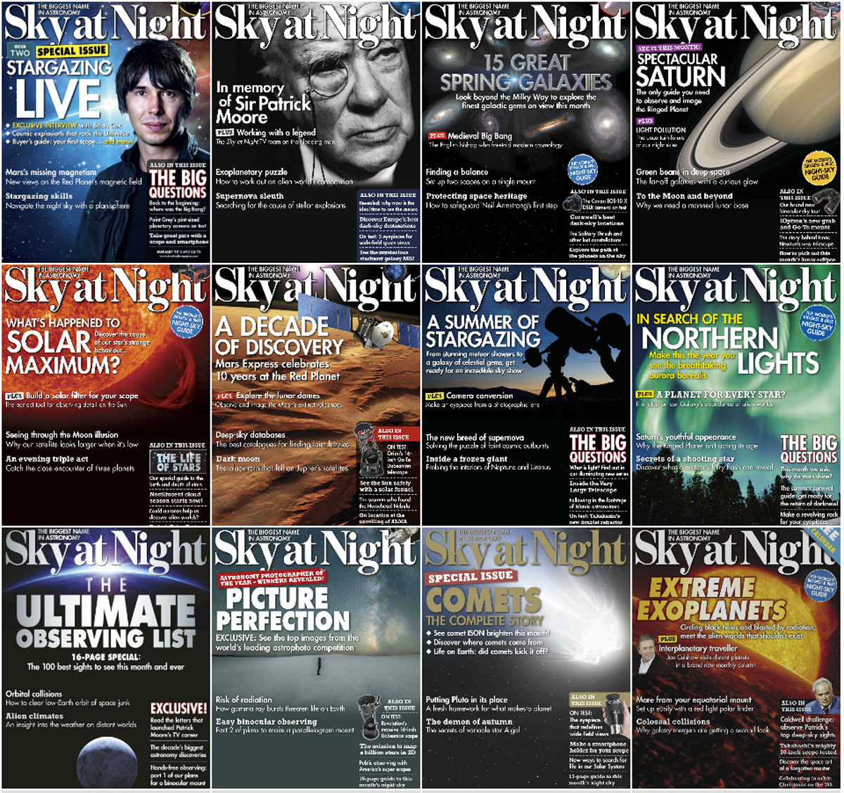 BBC Sky at Night - Full Year 2013 Collection free download