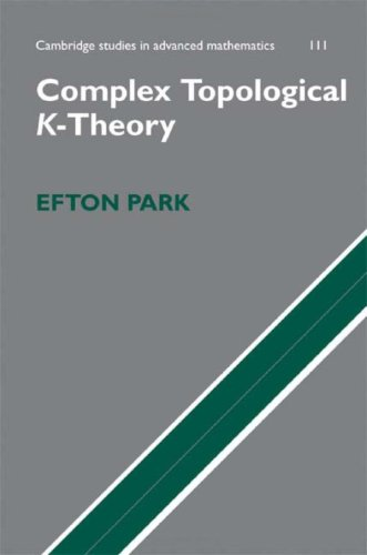 Complex Topological K-Theory free download