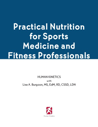Practical Nutrition for Sports Medicine and Fitness Professionals free download