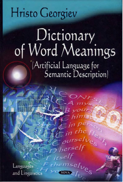 Dictionary of Word Meanings (Languages and Linguistics) by Hristo Georgiev free download
