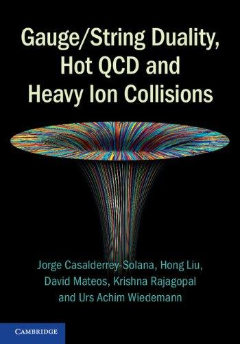 Gauge/String Duality, Hot QCD and Heavy Ion Collisions free download