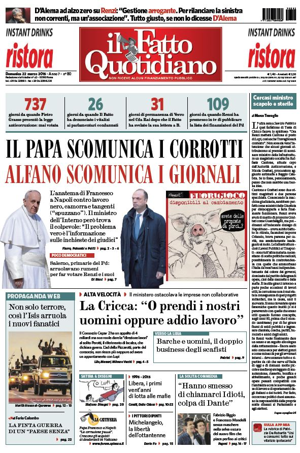 Il Fatto Quotidiano (22-03-15) free download