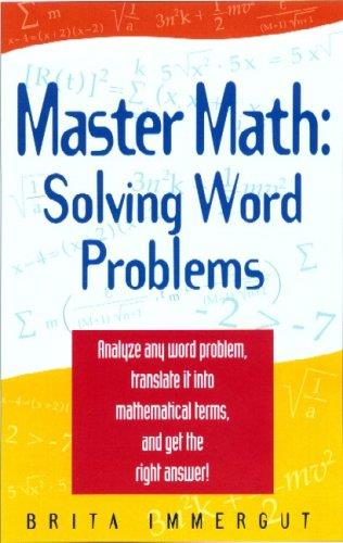 Master Math: Solving Word Problems free download