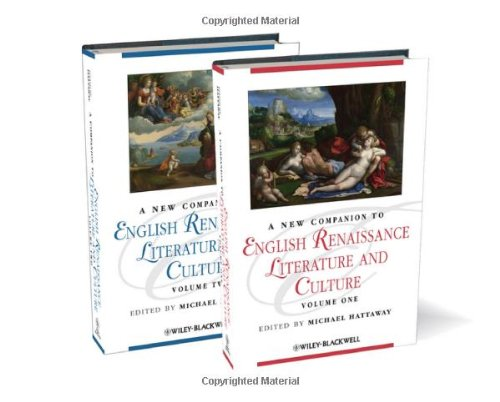 A New Companion to English Renaissance Literature and Culture free download