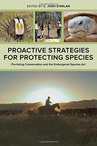 Proactive Strategies for Protecting Species: Pre-Listing Conservation and the Endangered Species Act free download