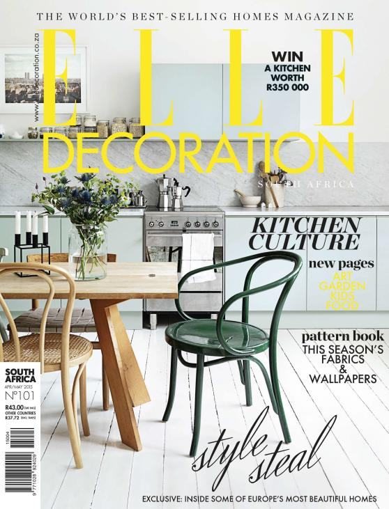 Elle Decoration South Africa - April-May 2015 free download