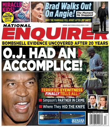 National Enquirer - 30 March 2015 free download