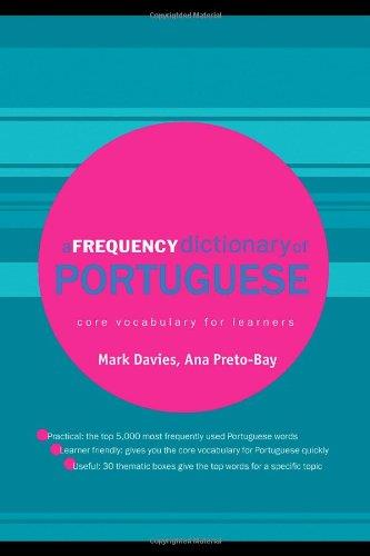 A Frequency Dictionary of Portuguese download dree