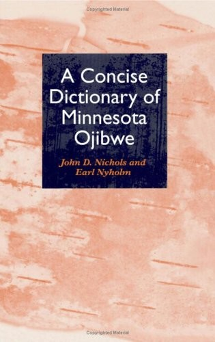 A Concise Dictionary of Minnesota Ojibwe free download