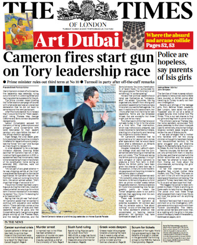 The London Times March 24 2015 free download