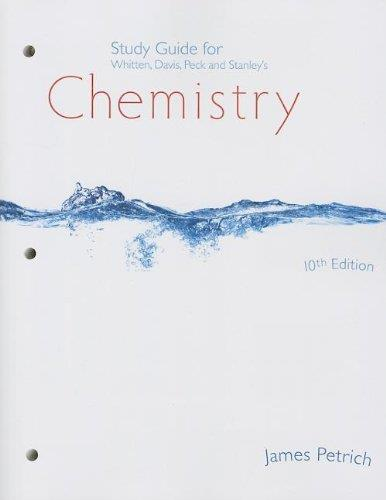 Chemistry (Study Guide), 10th edition free download