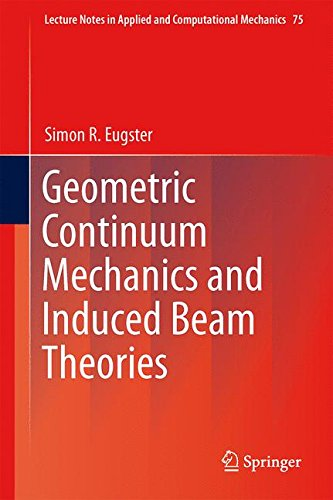 Geometric Continuum Mechanics and Induced Beam Theories free download