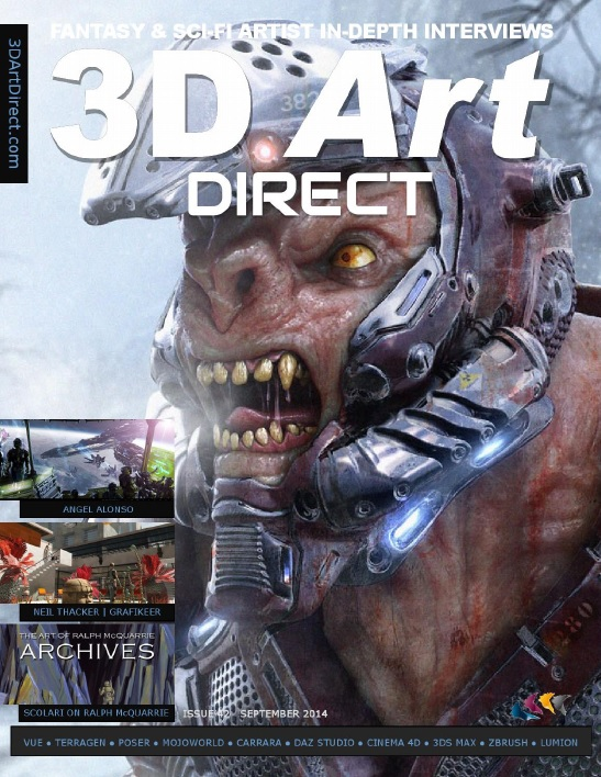 3D Art Direct - September 2014 download dree