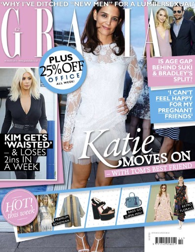 Grazia UK - 30 March 2015 free download