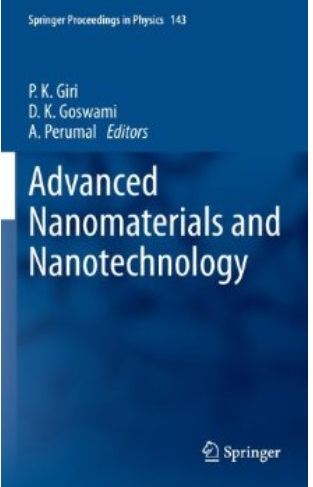 Advanced Nanomaterials and Nanotechnology free download