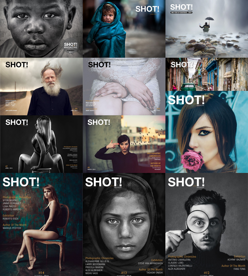 SHOT! Magazine 2014 Full Year Collection free download