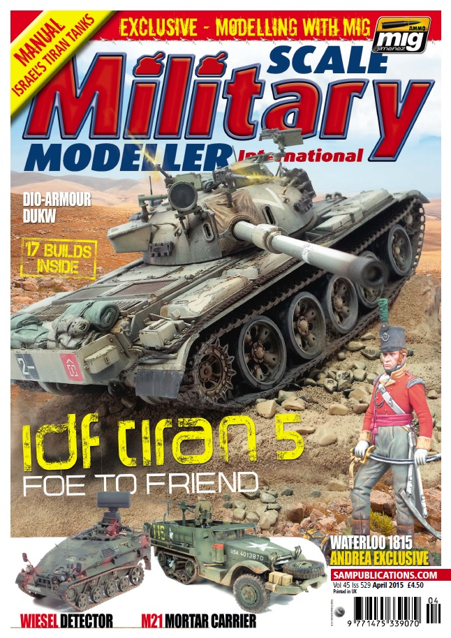 Scale Military Modeller International - April 2015 free download