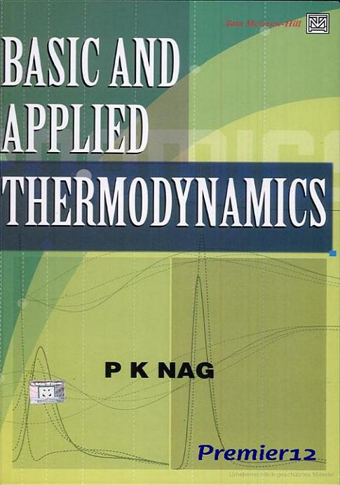 Basic And Applied Thermodynamics free download