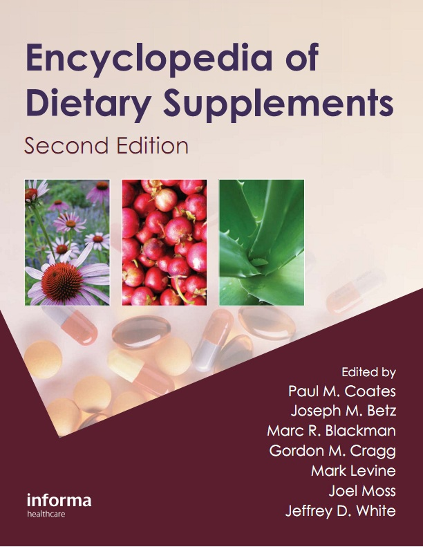 Encyclopedia of Dietary Supplements, Second Edition free download