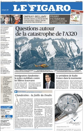 Le Figaro du Mercredi 25 Mars 2015 free download