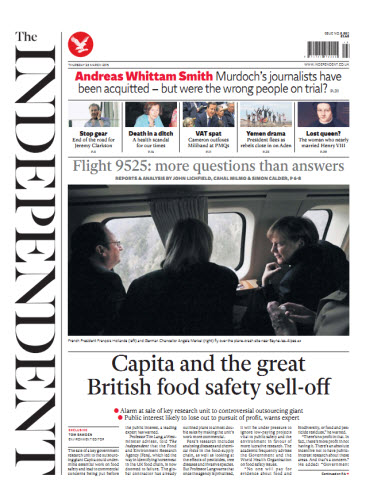 The Independent March 26 2015 free download