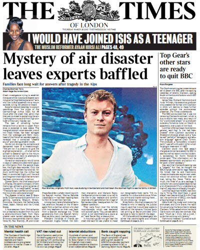 The London Times March 26 2015 free download