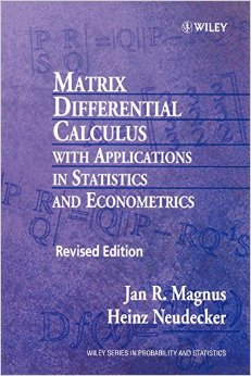 Matrix Differential Calculus with Applications in Statistics and Econometrics, 2nd Edition free download