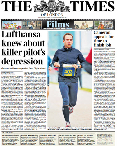 The London Times March 27 2015 free download