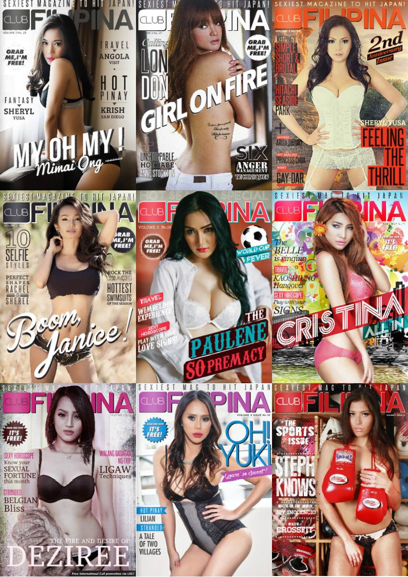 Club Filipina - 2014 Full Year Issues Collection free download