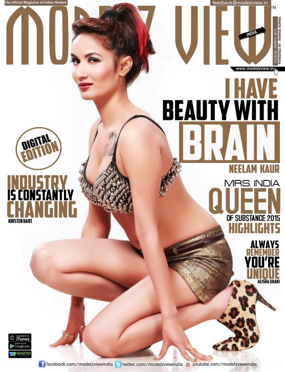 Modelz View India - March 2015 free download