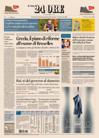 Il Sole 24 Ore - 28.03.2015 free download