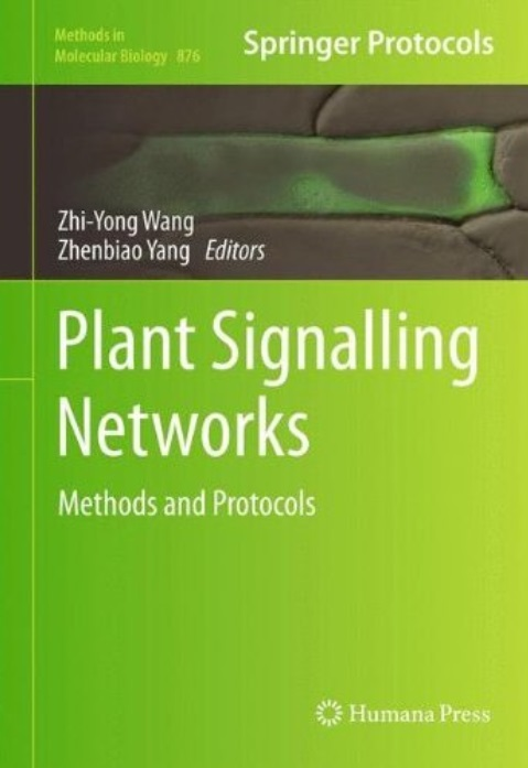 Plant Signalling Networks: Methods and Protocols free download
