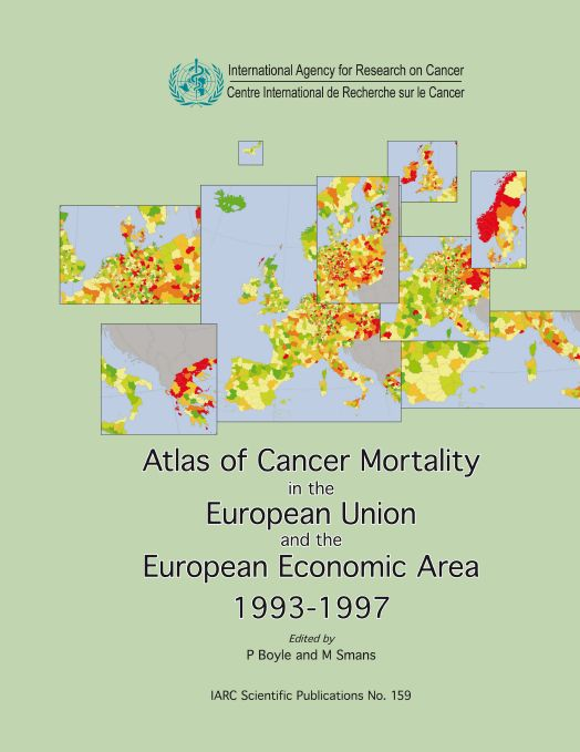 Atlas of Cancer Mortality in the European Union and the European Economic Area 1993-1997 free download