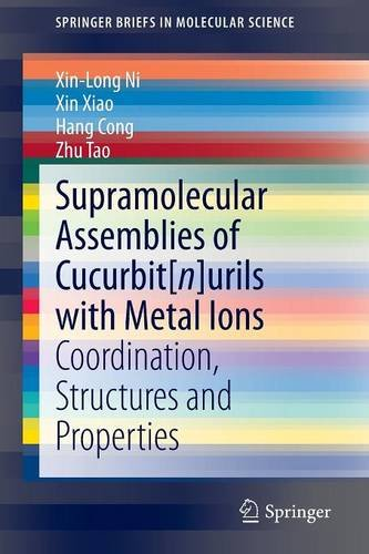 Supramolecular Assemblies of Cucurbit[n]urils with Metal Ions free download