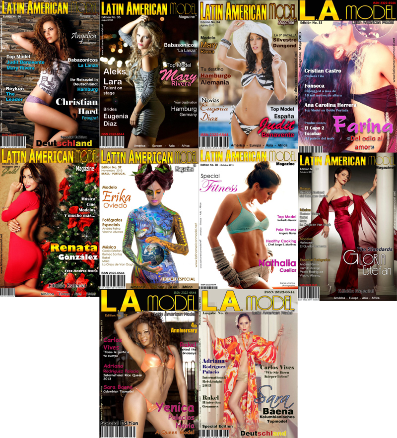 Latin American Model 2013 Full Year Collection free download