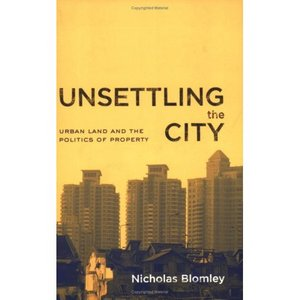 Unsettling the City: Urban Land and the Politics of Property free download