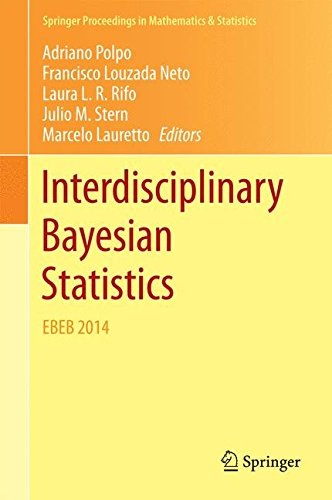 Interdisciplinary Bayesian Statistics: EBEB 2014 free download