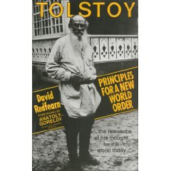 Tolstoy: Principles New World Order by David Scott Redfearn free download
