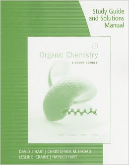 Organic Chemistry Study Guide and Solutions Manual: A Short Course, 13th edition free download