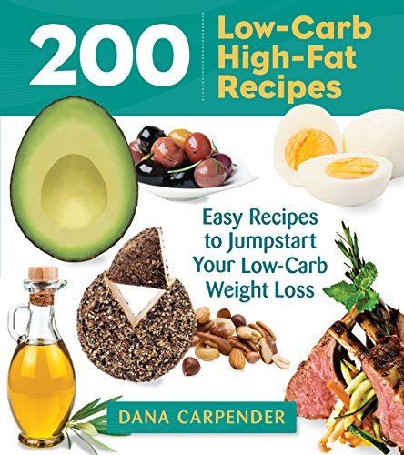 200 Low-Carb, High-Fat Recipes free download