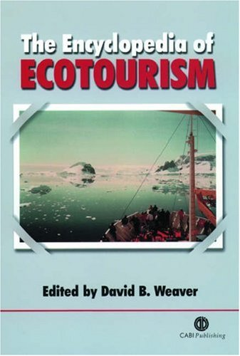 The Encyclopedia of Ecotourism (Cabi) by David B Weaver free download