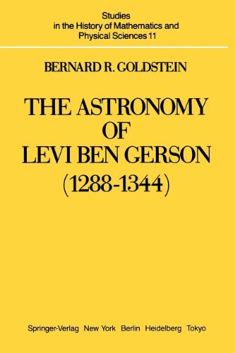 The Astronomy of Levi ben Gerson (1288-1344) free download