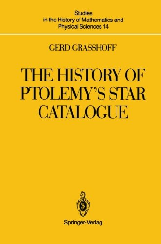 The History of Ptolemy's Star Catalogue free download