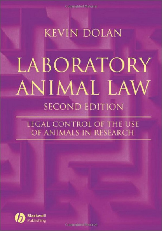 Laboratory Animal Law: Legal Control of the Use of Animals in Research, 2nd edition free download