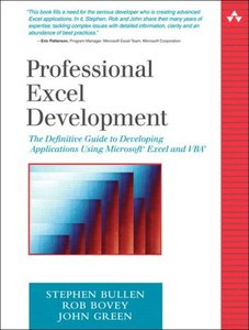 Professional Excel Development free download