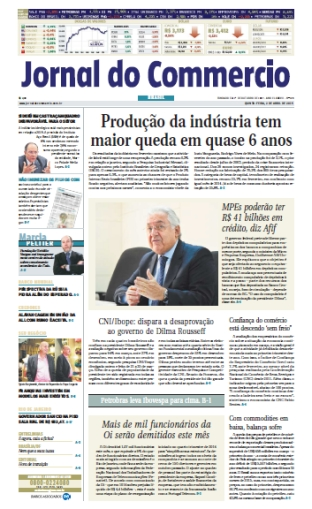 Jornal do Commercio - 2 de abril de 2015 - Quinta free download
