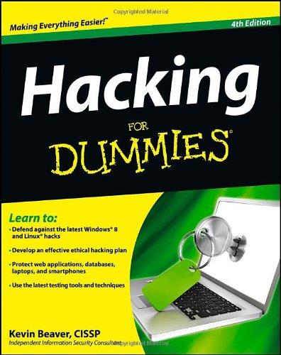 Hacking For Dummies (4th edition) free download