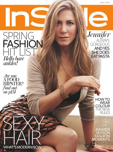 InStyle UK - May 2015 free download