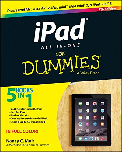 iPad All-in-One For Dummies, 7th Edition free download