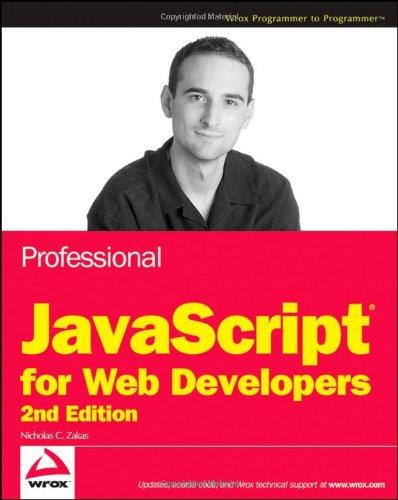 Professional javascript for Web Developers free download